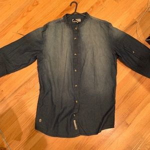 Triple Five soul NYC button down shirt size large